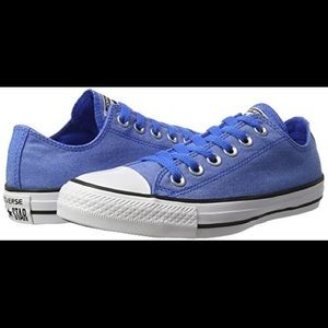 converse all star low-top chambray shoes unisex